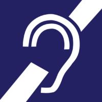 Autocollant de l'oreille barrée