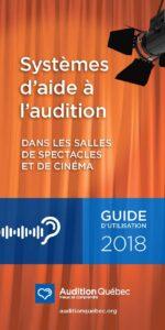 Guide-systèmes d'aide à l'audition salle de spectacle