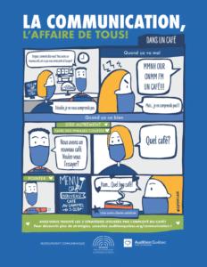 Bande dessinée présentant des stratégies de communication