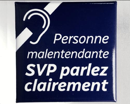 malentendante - SVP parlez clairement »
