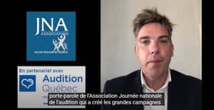 Sébastien Leroy, Porte-parole de l'Association Journée nationale de l'audition